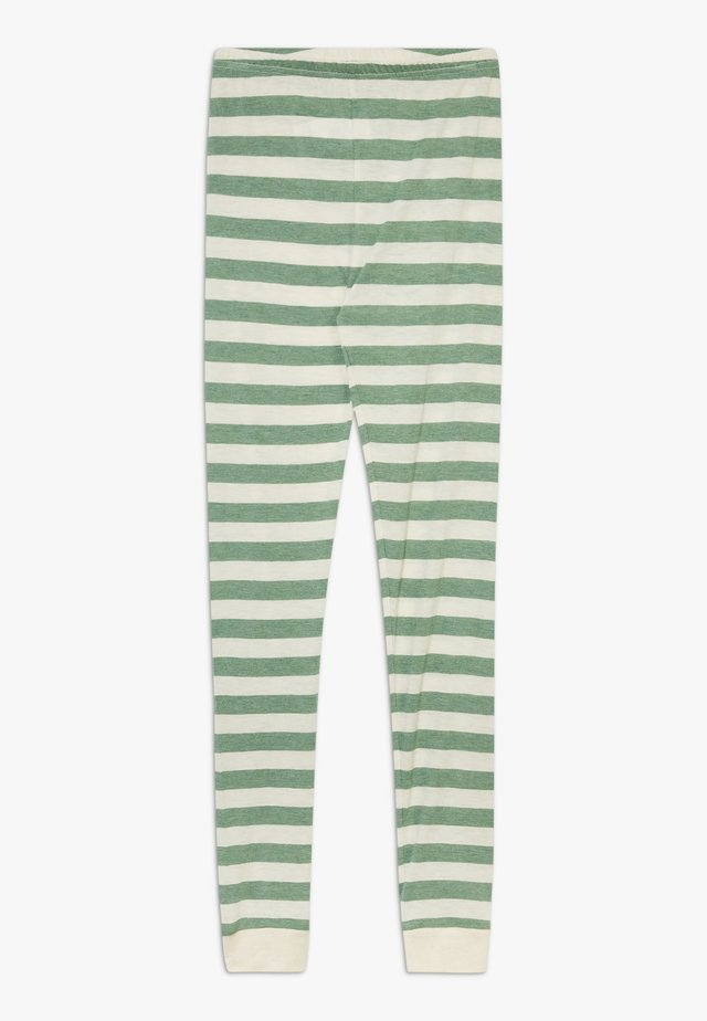 BAMBOO STRIPE - Legging - elm green