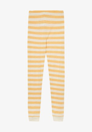BAMBOO STRIPE - Leggings - mineral yellow