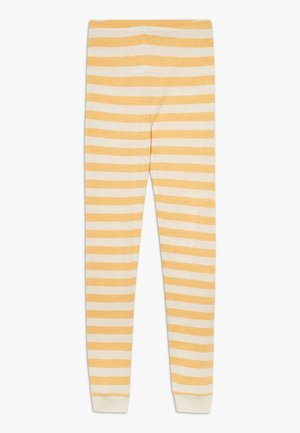 BAMBOO STRIPE - Legíny - mineral yellow