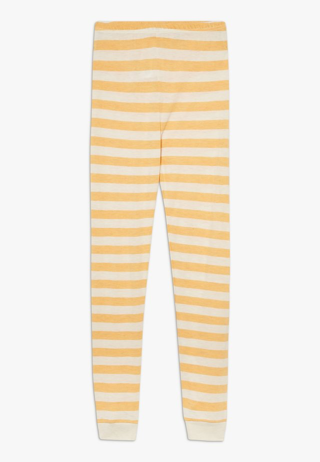 BAMBOO STRIPE - Leggings - Trousers - mineral yellow