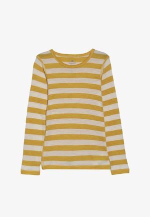 STRIPE - Camiseta de manga larga - mineral yellow