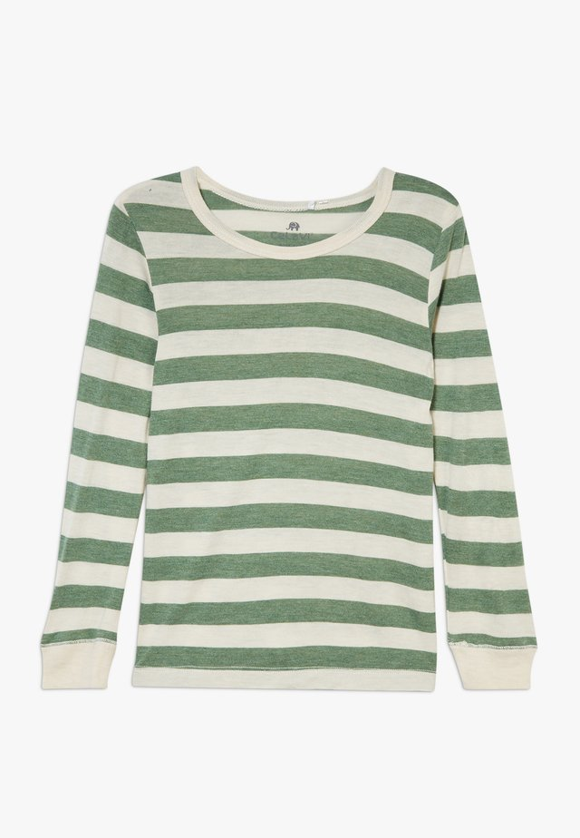 BAMBOO  - Long sleeved top - elm green