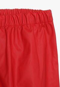 CeLaVi - BASIC RAINWEAR SUIT SOLID - Pantalon de pluie - red - 5