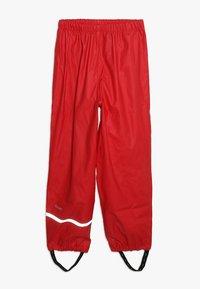 CeLaVi - BASIC RAINWEAR SUIT SOLID - Pantalon de pluie - red - 3