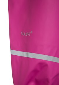 CeLaVi - RAINWEARPANTS SOLID - Kangashousut - real pink - 3