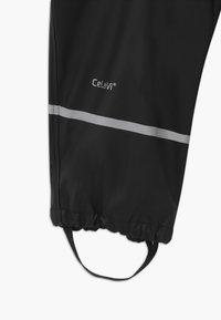 CeLaVi - RAINWEARPANTS SOLID - Pantalon de pluie - black - 3