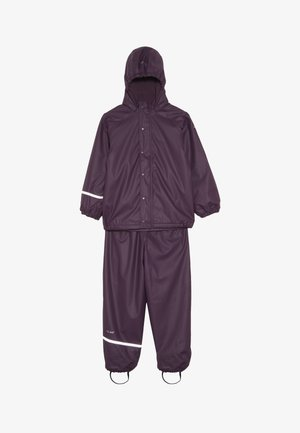 RAINWEAR SET - Waterproof jacket - blackberry wine