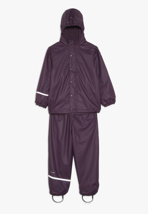 RAINWEAR SET - Impermeable - blackberry wine