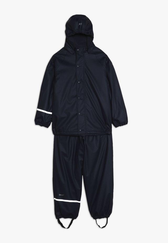 RAINWEAR SET - Waterproof jacket - navy