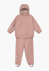 CeLaVi - BASIC RAINWEAR RECYCLE SET - Rain trousers - misty rose - 0