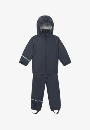 BASIC RAINWEAR RECYCLE SET - Pantalon de pluie - dark navy