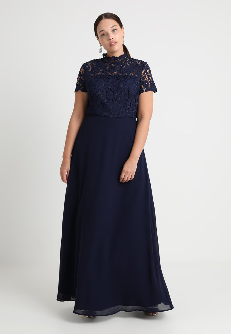 Chi Chi London Curvy - Occasion wear - dark blue