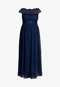 Chi Chi London Curvy - COSIA DRESS - Koktejlové šaty/ šaty na párty - navy - 5