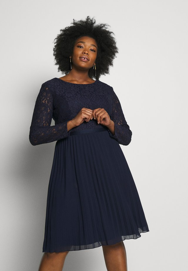 RENE DRESS - Cocktailjurk - navy