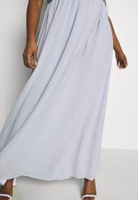 Chi Chi London Curvy - LARK DRESS - Cocktailjurk - blue - 5