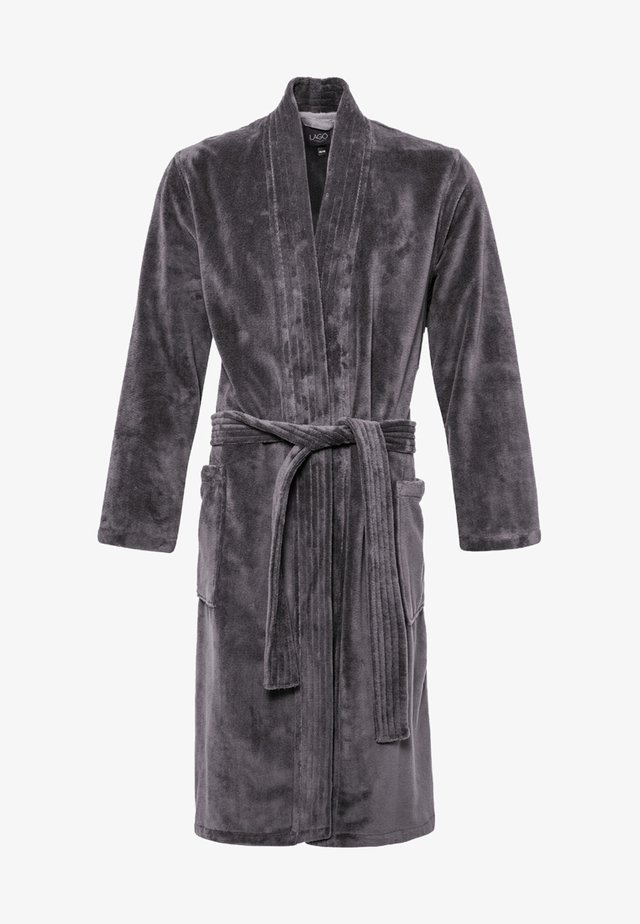 LAGO  - Dressing gown - anthrazit