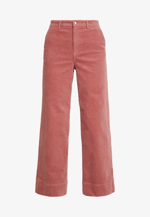 TROUSERS FREIDA - Bukse - light mahogany