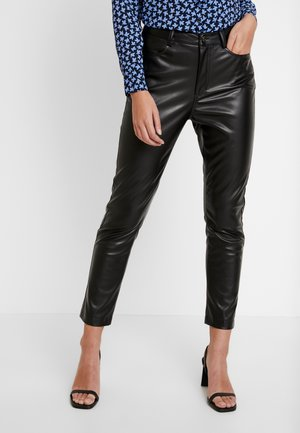 TROUSERS DEENA - Stoffhose - black