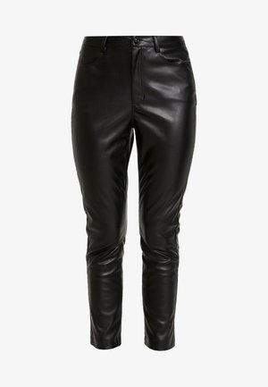 TROUSERS DEENA - Pantalon classique - black