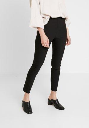 TROUSERS KELLY - Spodnie materiałowe - black