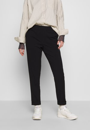 TROUSERS FARIN - Pantaloni - black