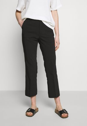 TROUSERS FATIMA SPRING - Trousers - black