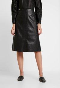 Carin Wester - SKIRT MELINDA - A-line skirt - black - 0
