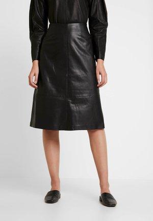 SKIRT MELINDA - Áčková sukně - black