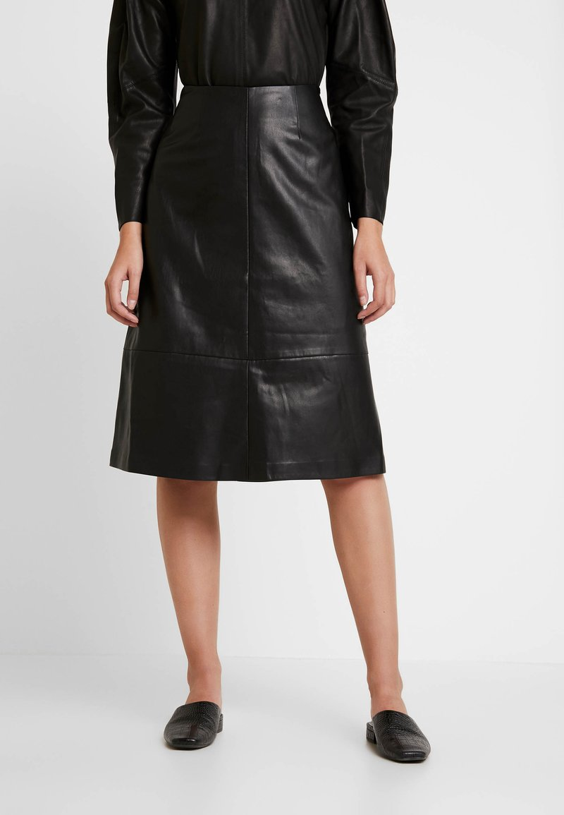Carin Wester - SKIRT MELINDA - A-line skirt - black