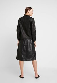 Carin Wester - SKIRT MELINDA - A-line skirt - black - 2
