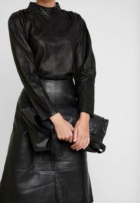 Carin Wester - SKIRT MELINDA - A-line skirt - black - 3