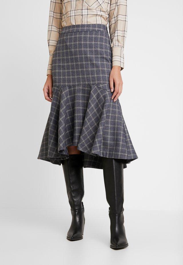 SKIRT MARTHA - A-line skirt - blue