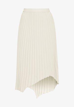 SKIRT MELANIE - Áčková sukně - beige