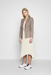 Carin Wester - SKIRT MELANIE - A-line skirt - beige - 1