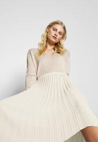 Carin Wester - SKIRT MELANIE - A-line skirt - beige - 3