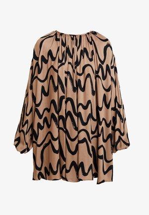 DRESS IDA - Vestito estivo - camel brown