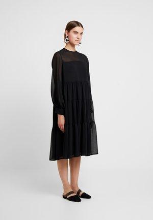 DRESS IVONNE - Korte jurk - black