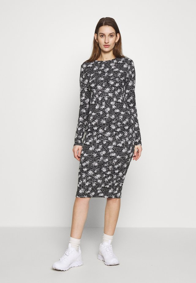 DRESS CAMMY - Sukienka etui - black