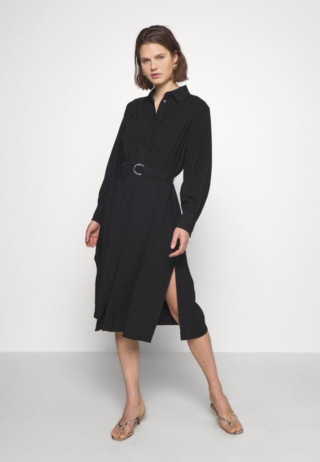 DRESS FANTINE - Shirt dress - black