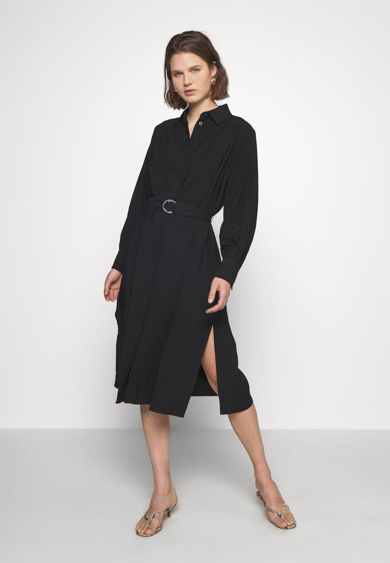Carin Wester - DRESS FANTINE - Shirt dress - black