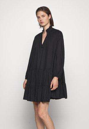 DRESS INES - Korte jurk - black
