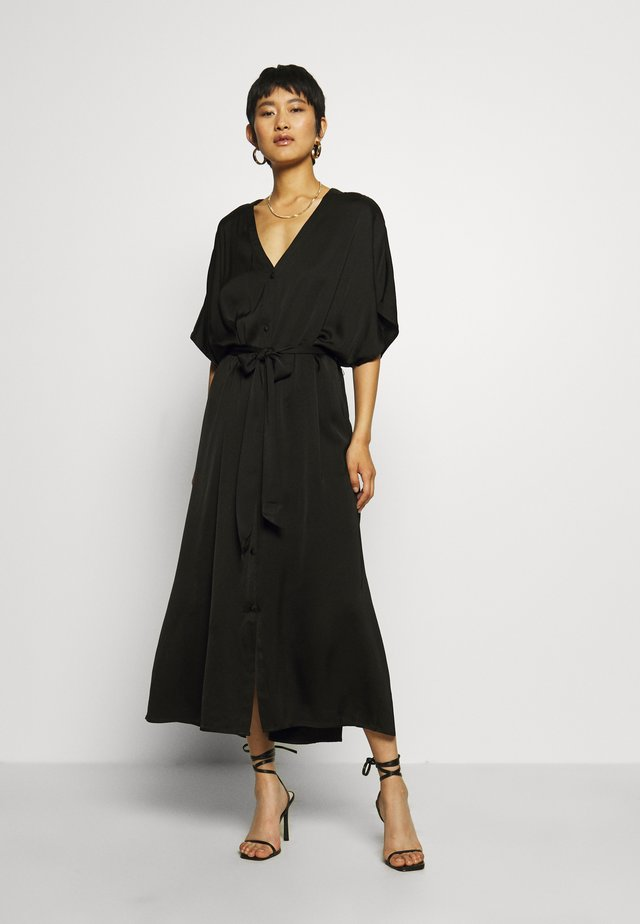 DRESS FLYNNE KAFTAN - Shirt dress - black