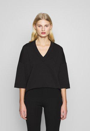 TILLY - T-shirt basic - black