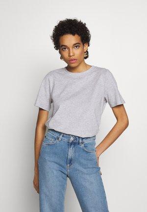 SAFFI - T-shirts - grey melange