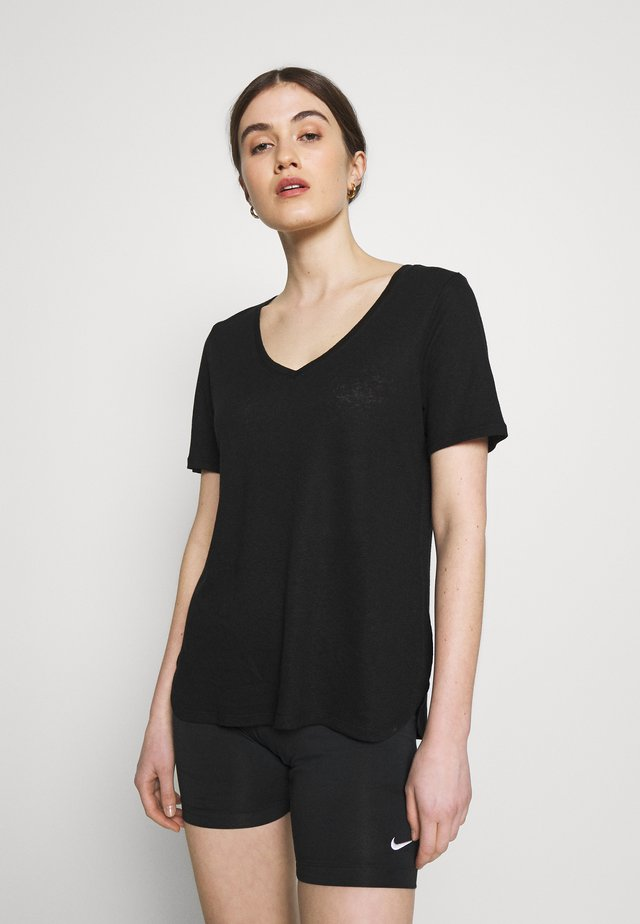 RAKEL - T-Shirt print - black