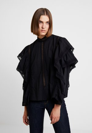 BLOUSE ABIA - Pusero - black