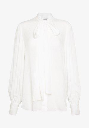 BLOUSE BODIL - Button-down blouse - white
