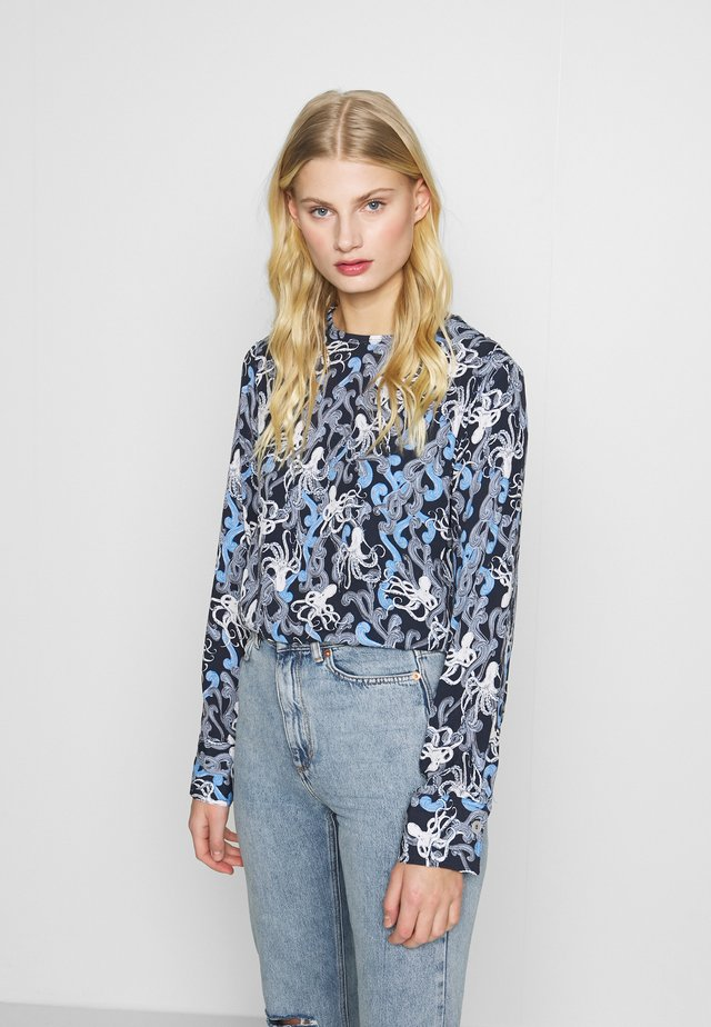 BELLE - Blouse - dark blue