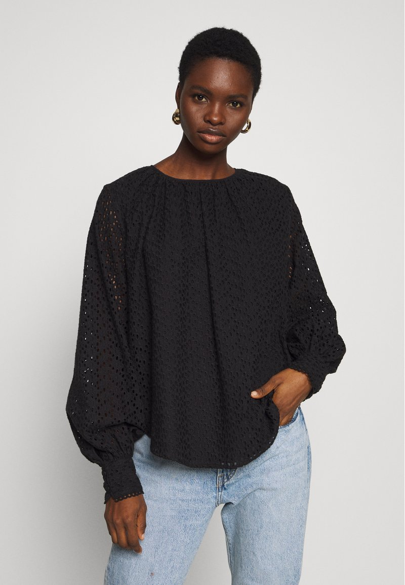 Carin Wester - TOP BARBRO - Bluse - black
