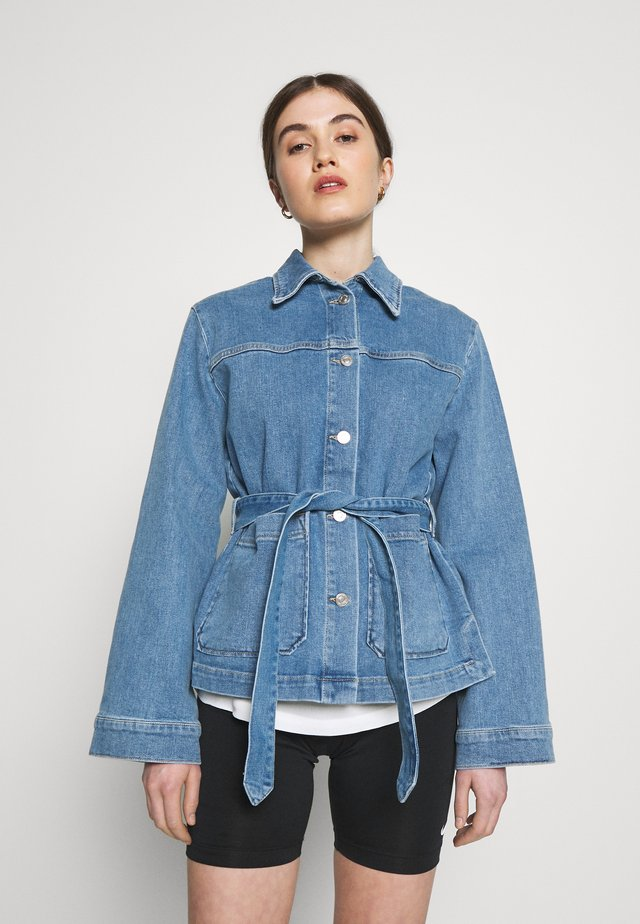 JACKET YVIS - Denim jacket - denim blue